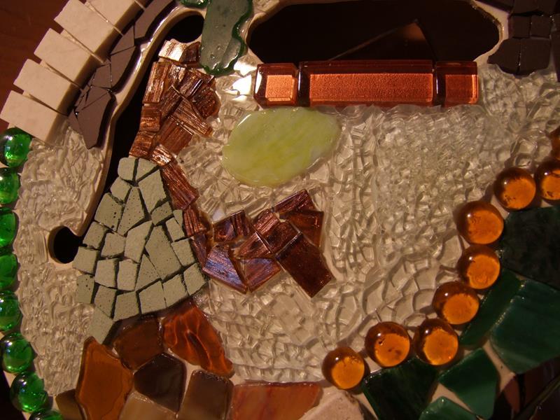 Mosaik Gitarre
