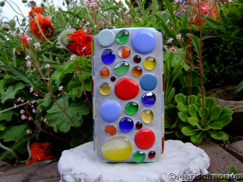 Mosaik Teelichthalter
