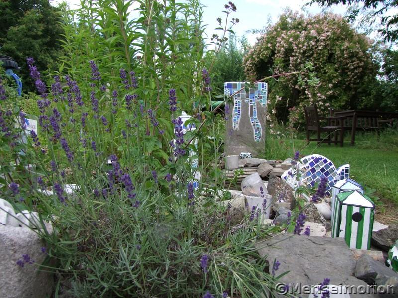 Mediteraner Mosaik Garten