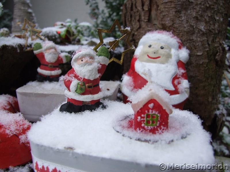 Beton Deko Weihnachten