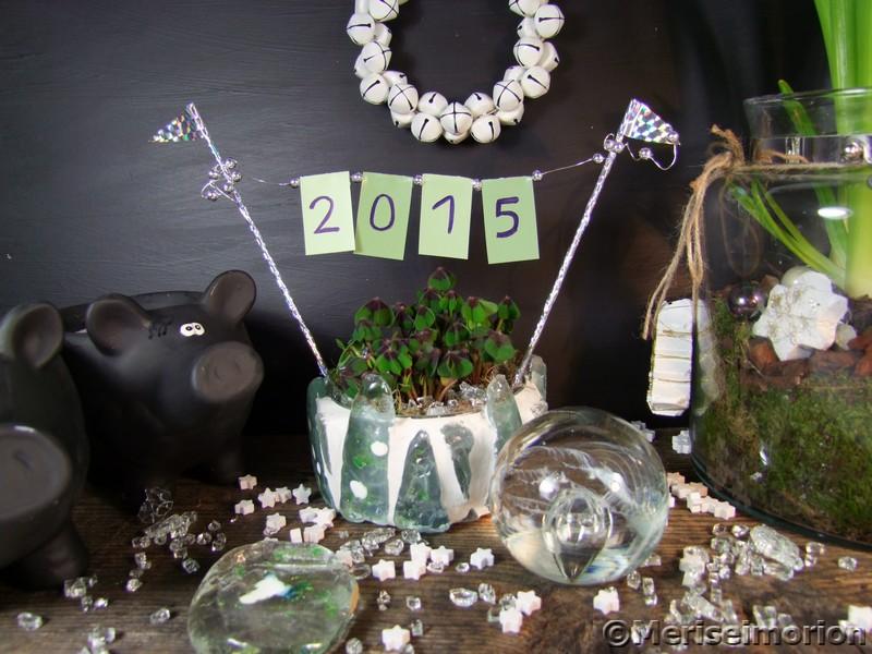 Silvesterdeko 2015