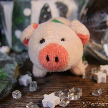 Silvester Deko Glücksschwein