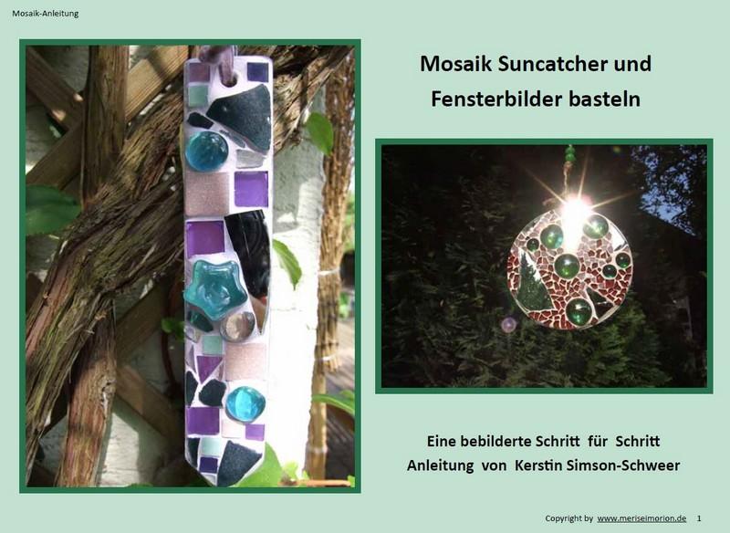 Mosaik Suncatcher basteln