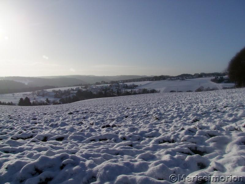 Schneespaziergang im Westerwald