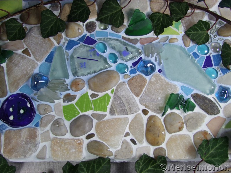 Osterdeko F R Drau En mosaiktisch selber machen landhaus mosaiktisch selber machen anleitung mit mosaiktisch