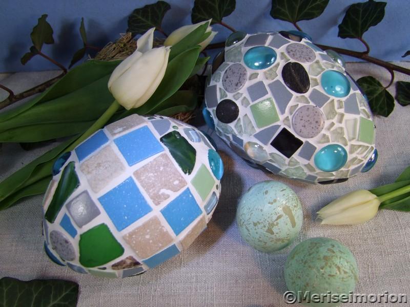Mosaik Ostereier