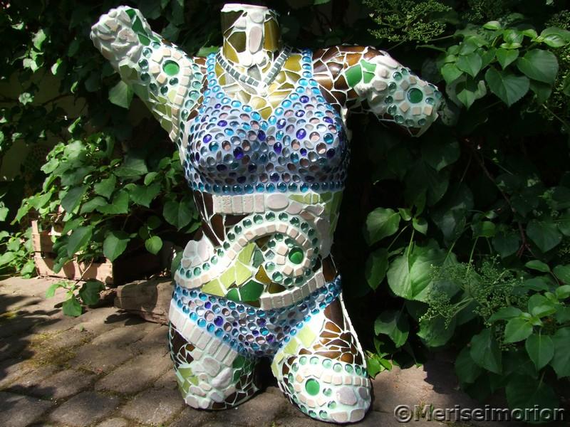 Mosaik Meerjungfrau