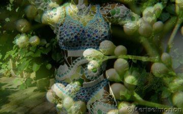 Verwunschener Mosaik Garten
