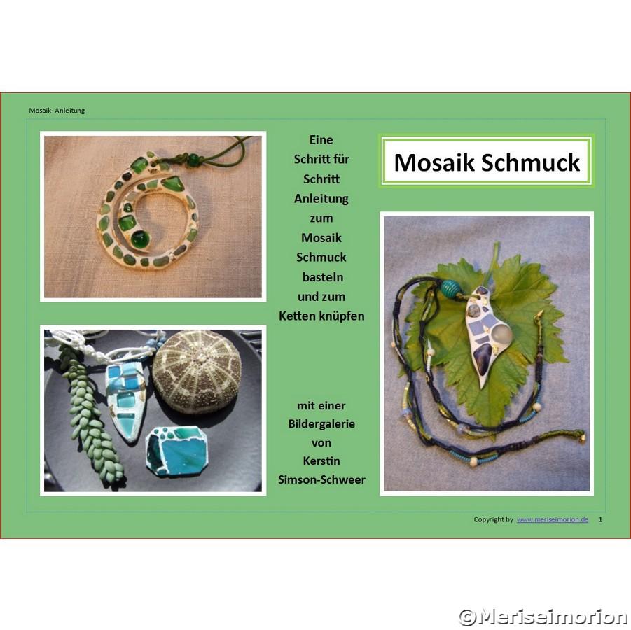 Mosaik Schmuck basteln