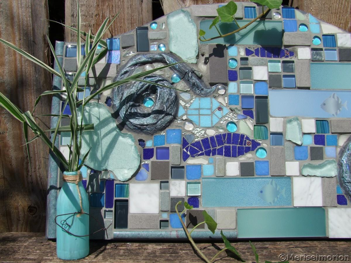 Mosaikbild Wassergedanken