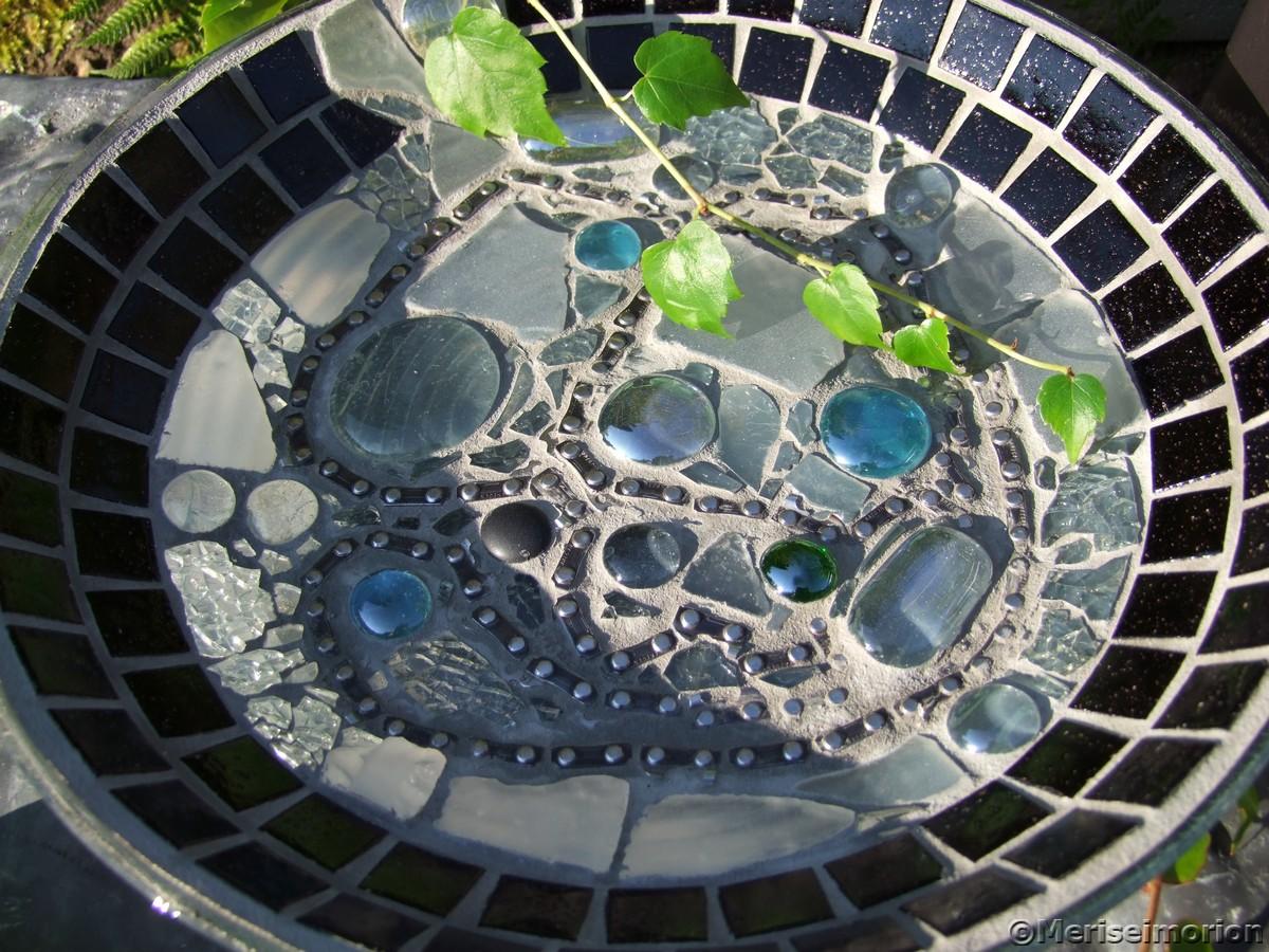 Mosaik Glasschale