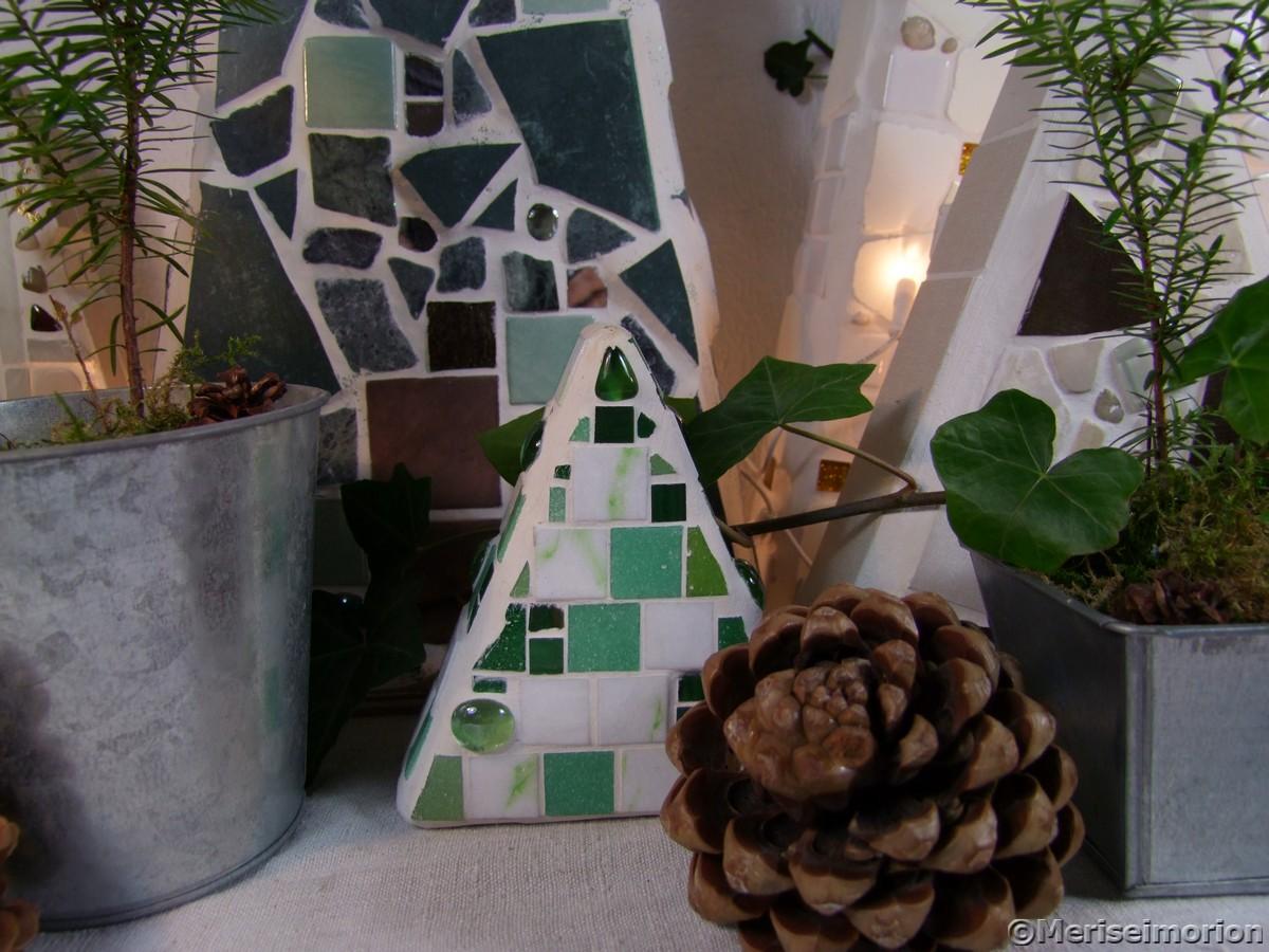 Weihnachtsdeko Mosaik