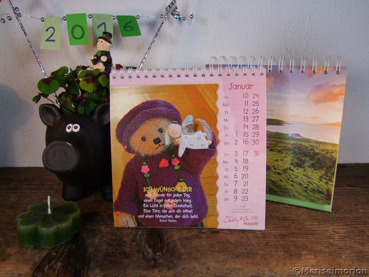 Neue Kalender 2016