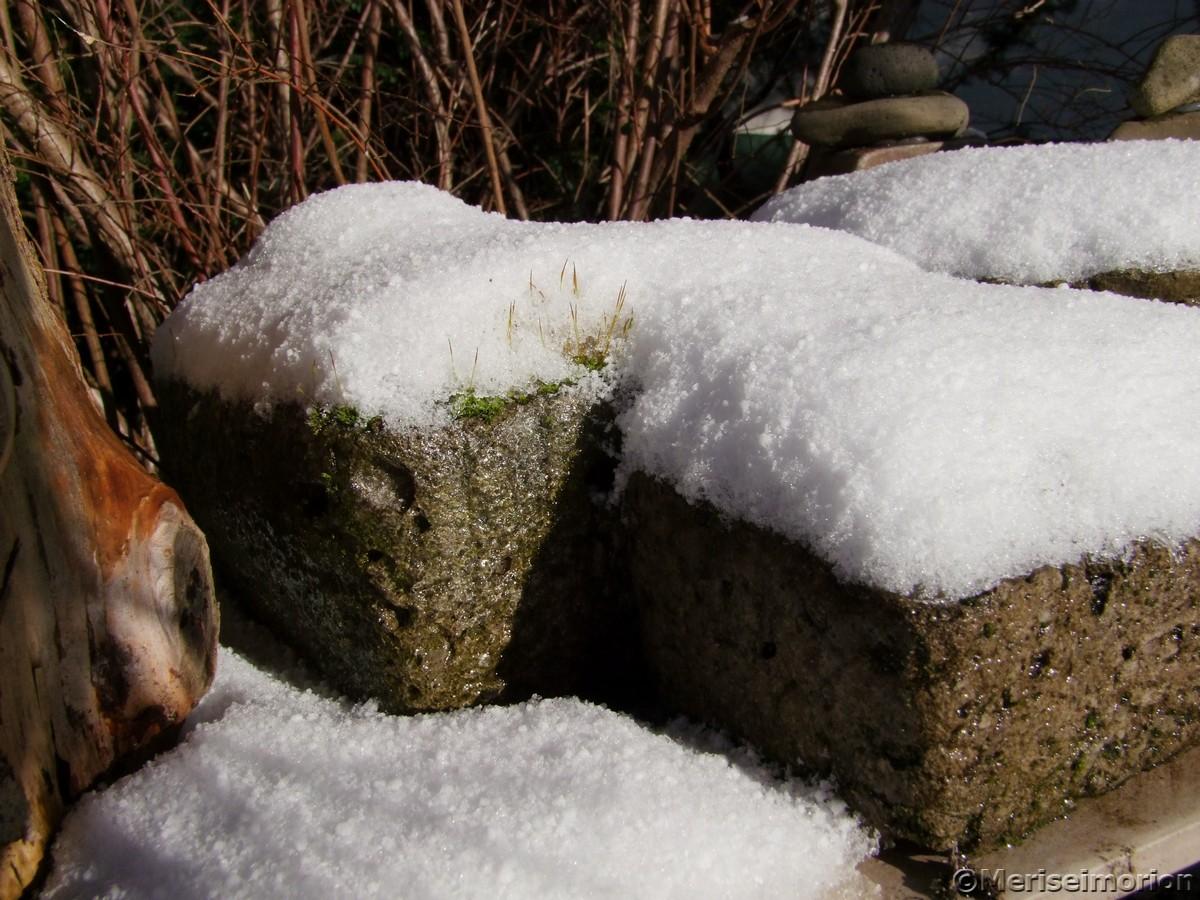 Beton im Winter