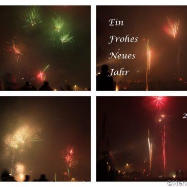 Feuerwerk Silvesternacht