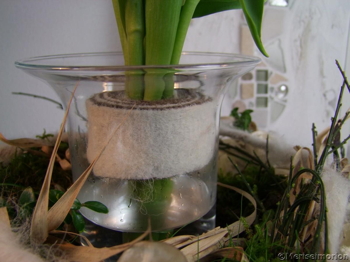 Tulpen in der Vase