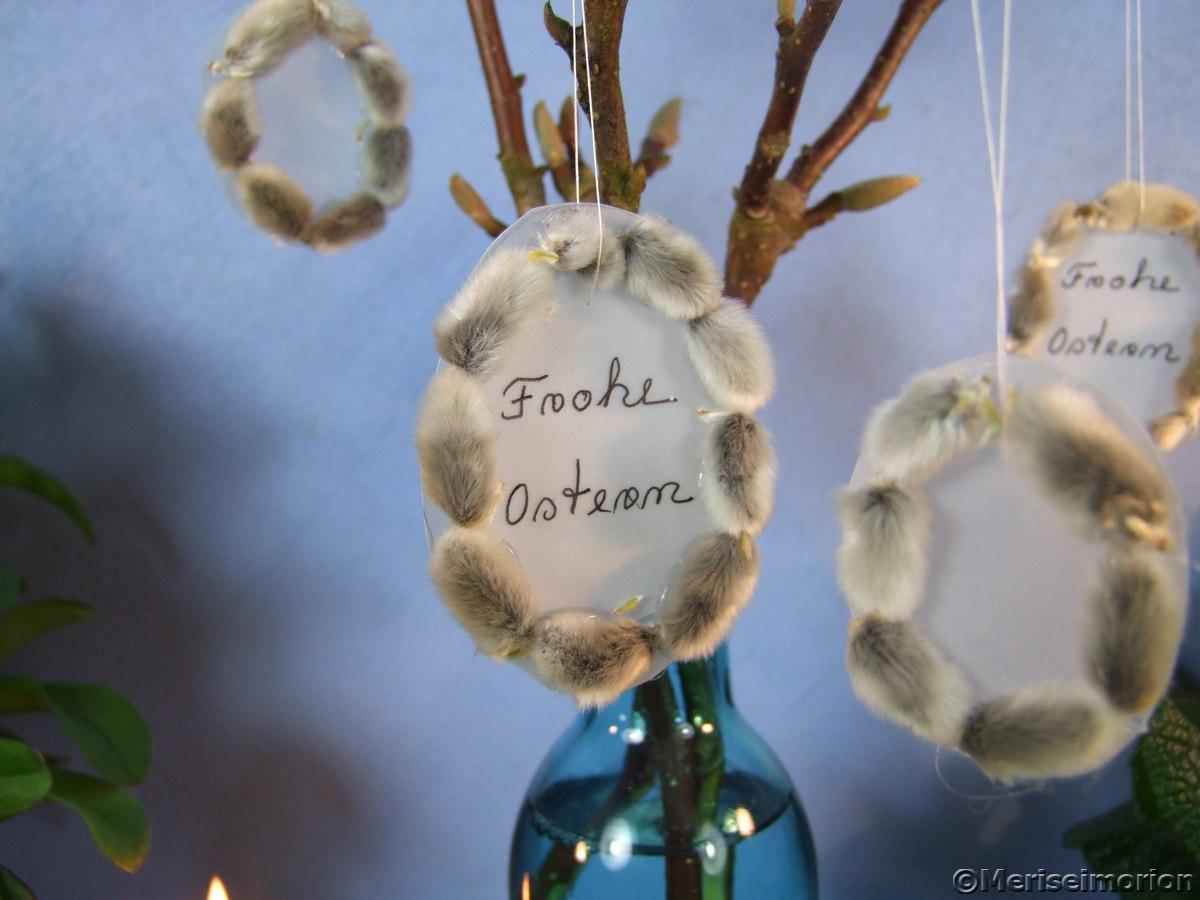 Weidenkätzchen Deko für die vase