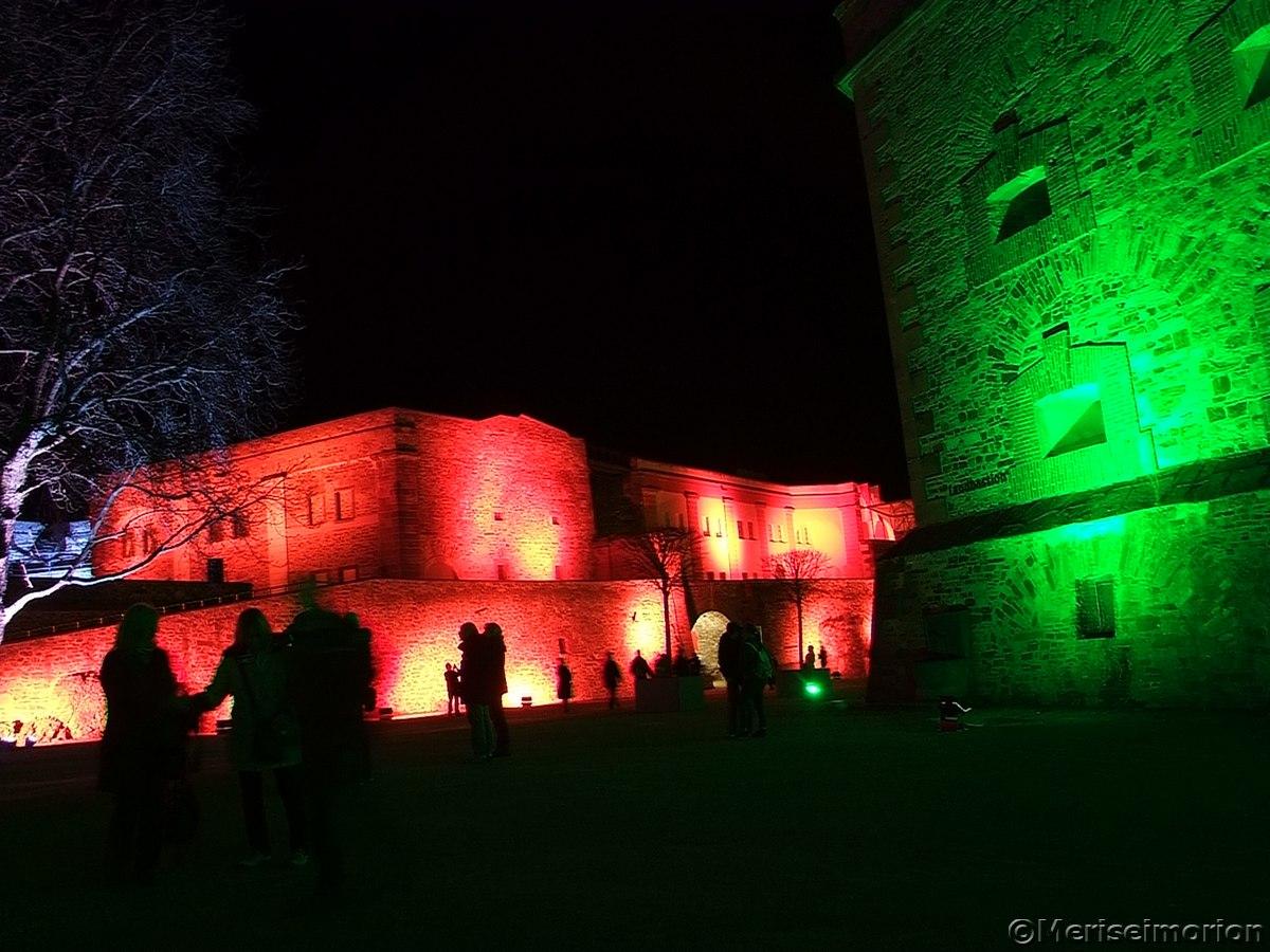 Lichterfest Festung Ehrenbreitstein