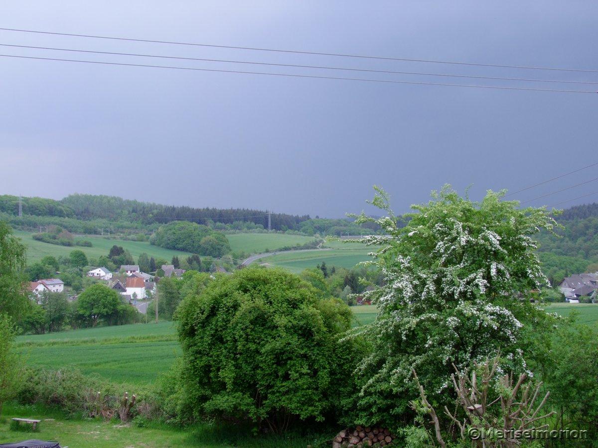 Gewitterwolken im Westerwald