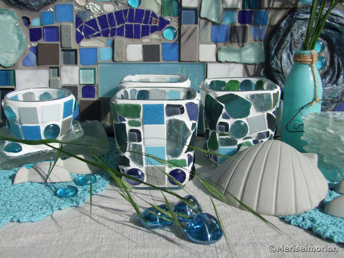 Mosaike und Beton