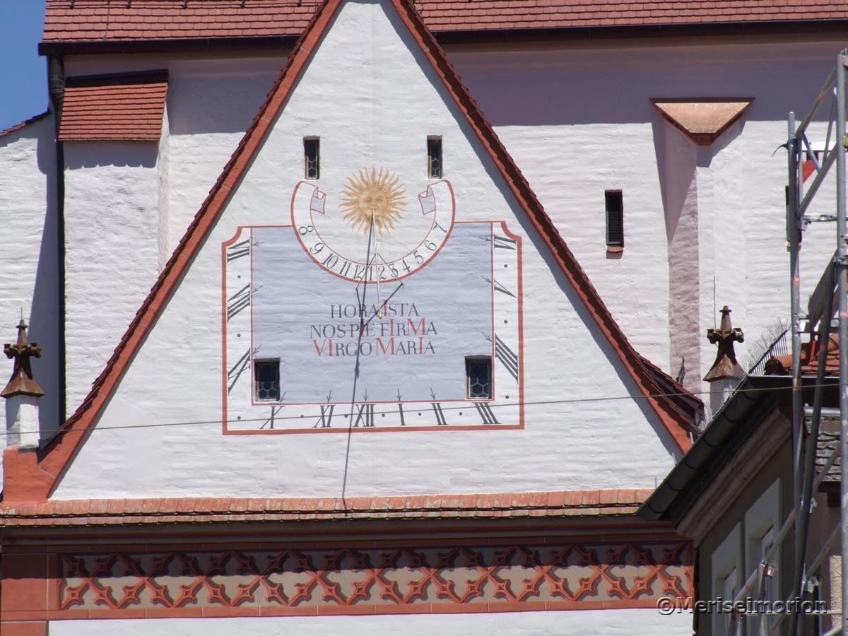Sonnenuhr Landsberg