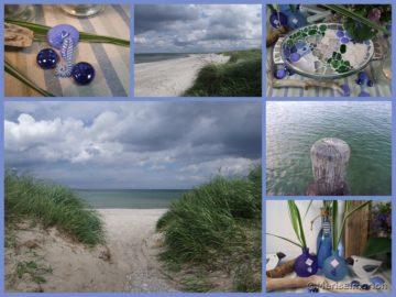 Meeresbrise in blau