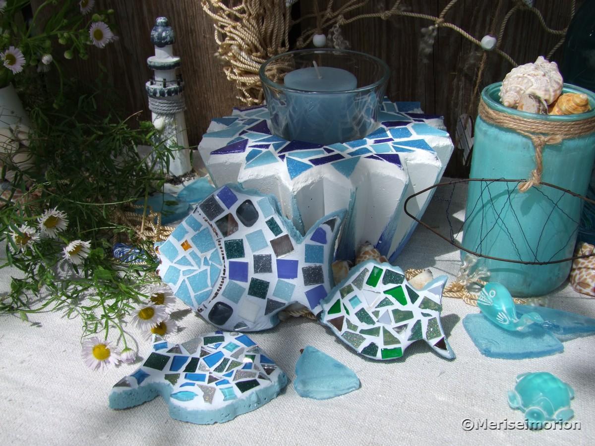 Beton und Mosaik Anleitung