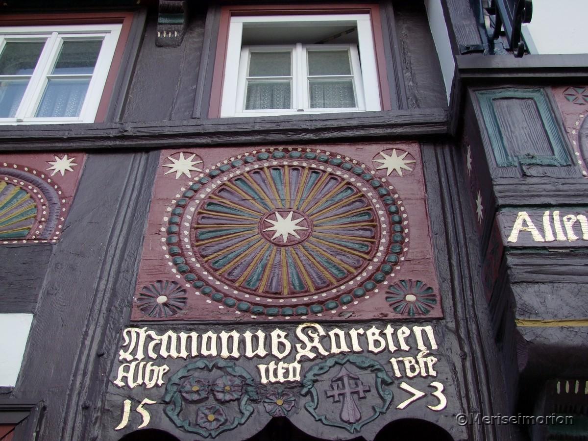 Hausfassade in Goslar