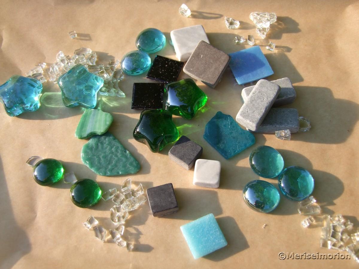 Mosaiksteine zum basteln