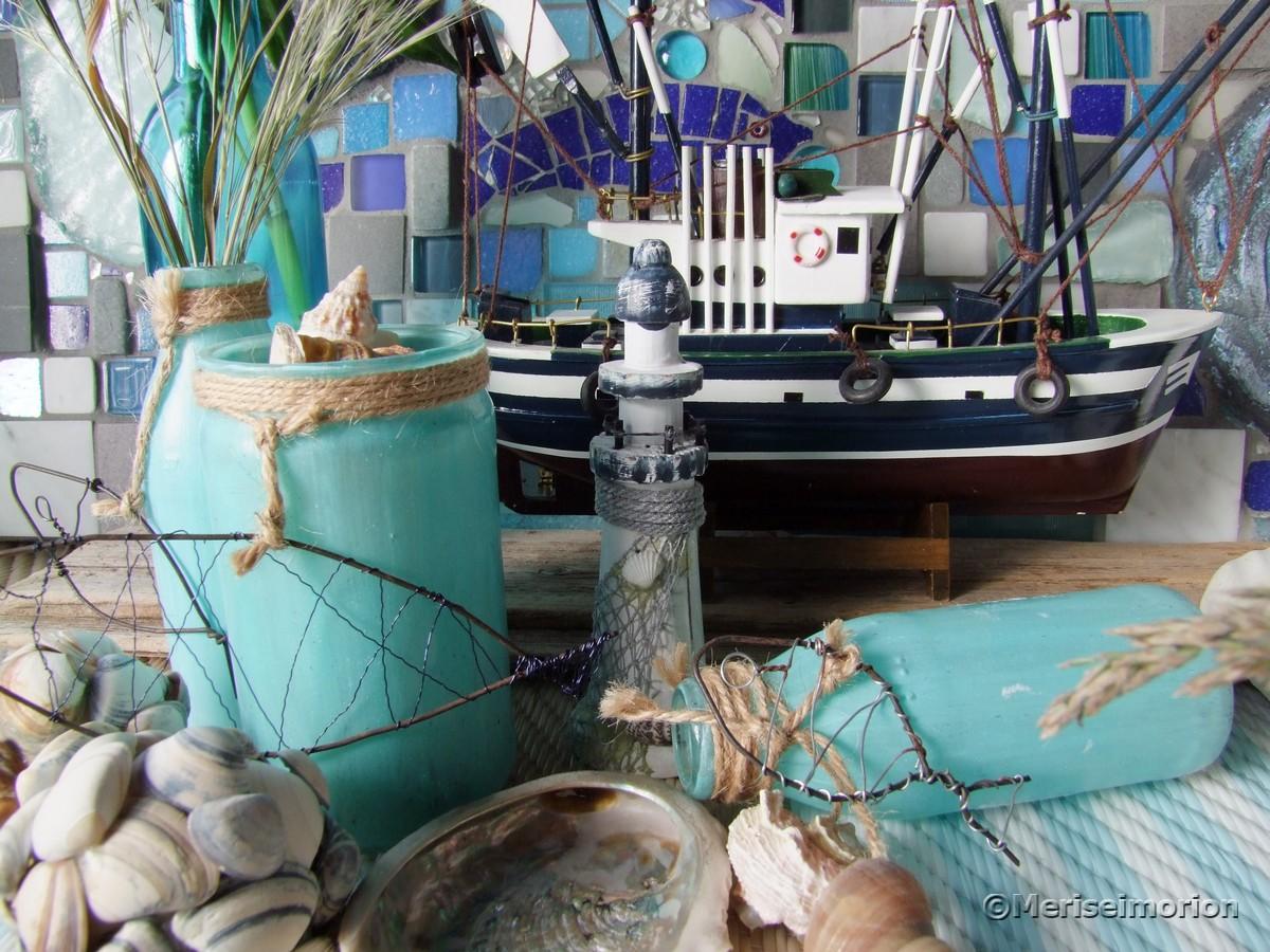 Maritime Leuchtturm Deko