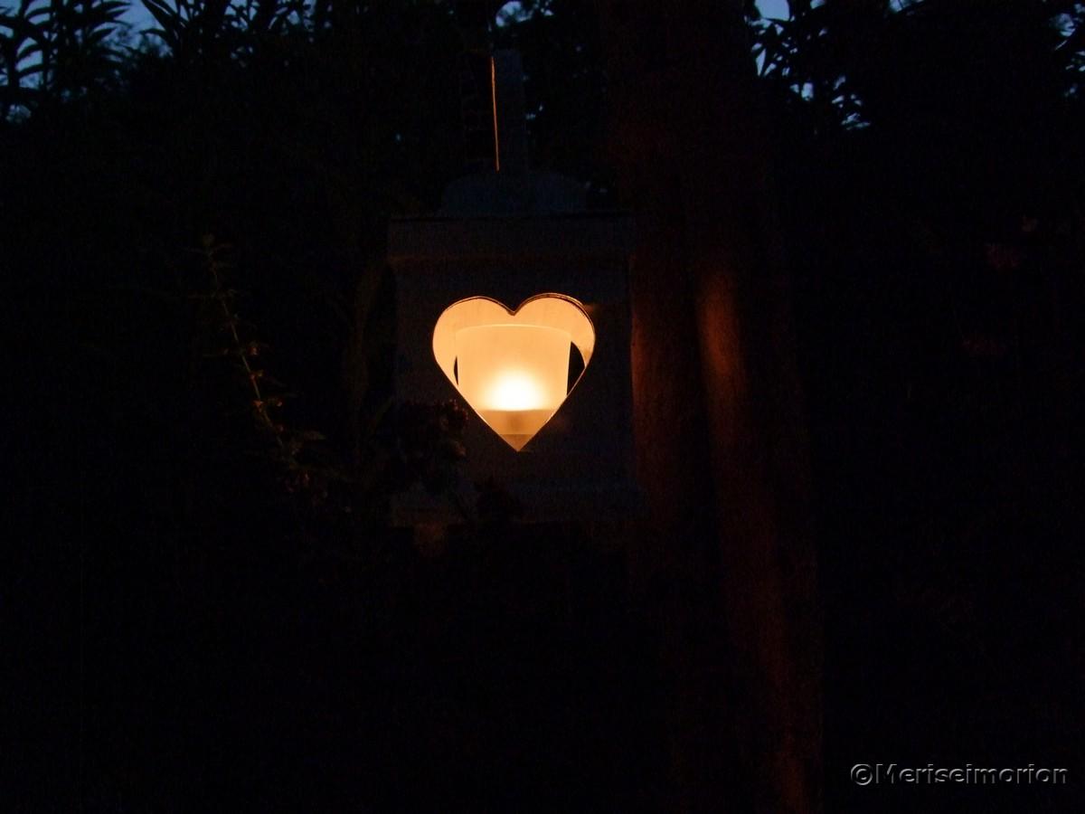 Herz Windlicht