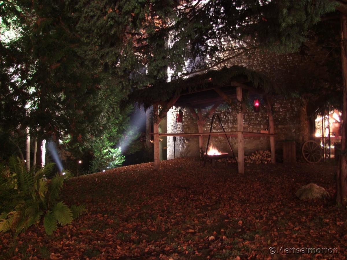 Beleuchtung Schlosspark