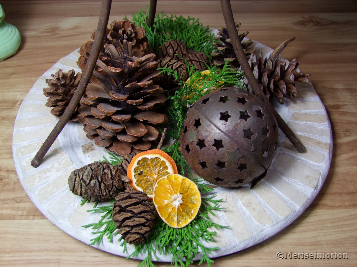 Mosaikteller Weihnachten