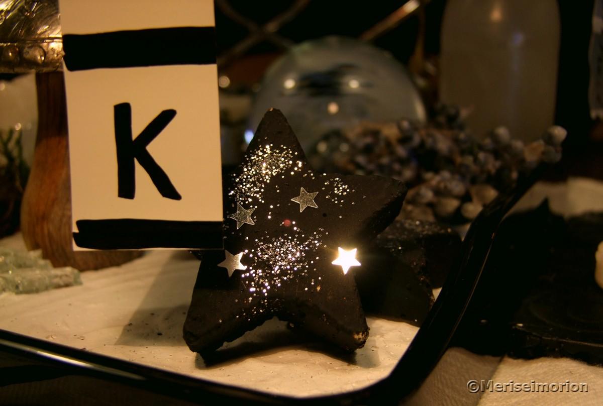 Betonsterne Weihnachten