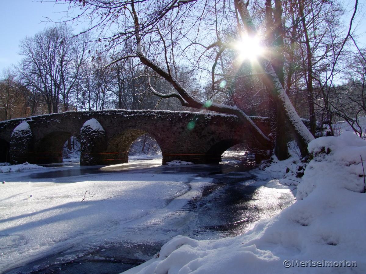 Nisterbrücke Winter