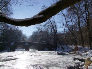 Winterspaziergang Nisterbrücke