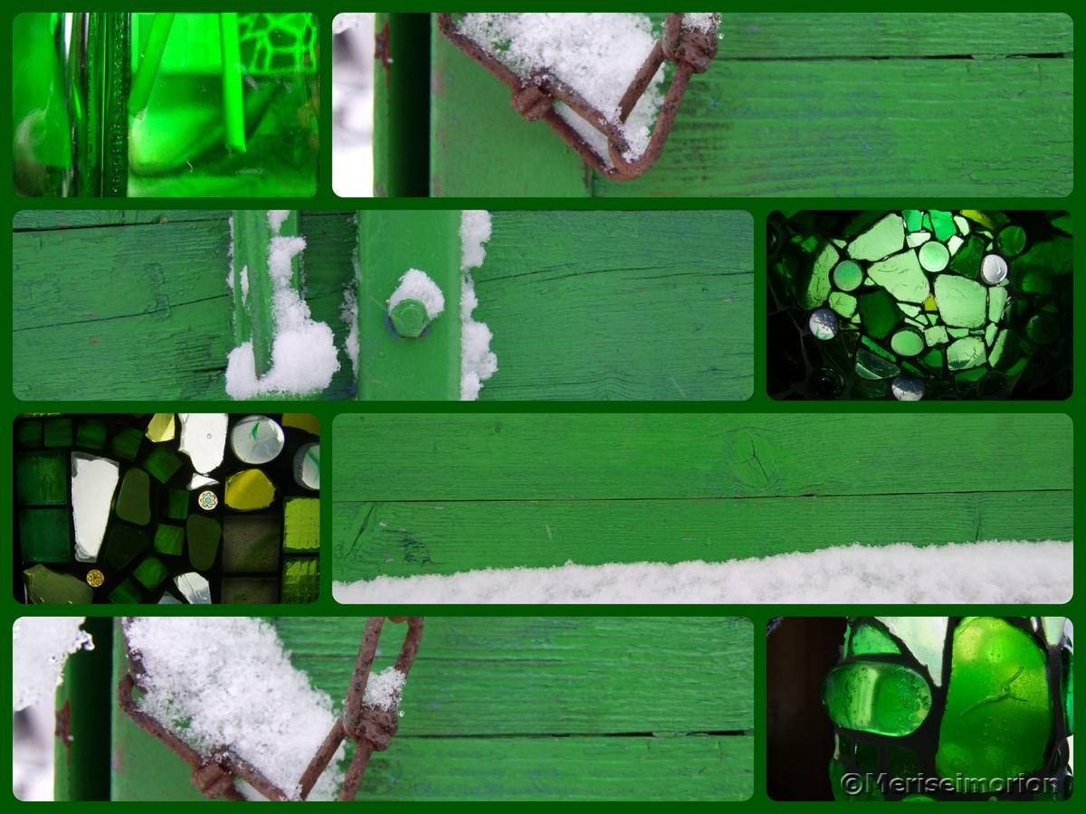 Frühlingsdeko Grün