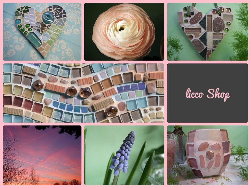 Mosaik und Beton Deko Shop