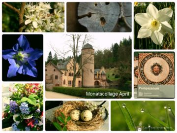 Monatscollage April