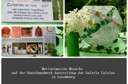 Meriseimorion Mosaik Ausstellung in Luxemburg