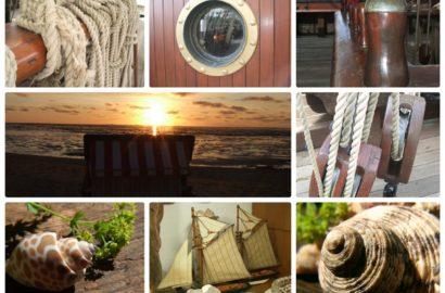 Maritime Setzkasten Deko