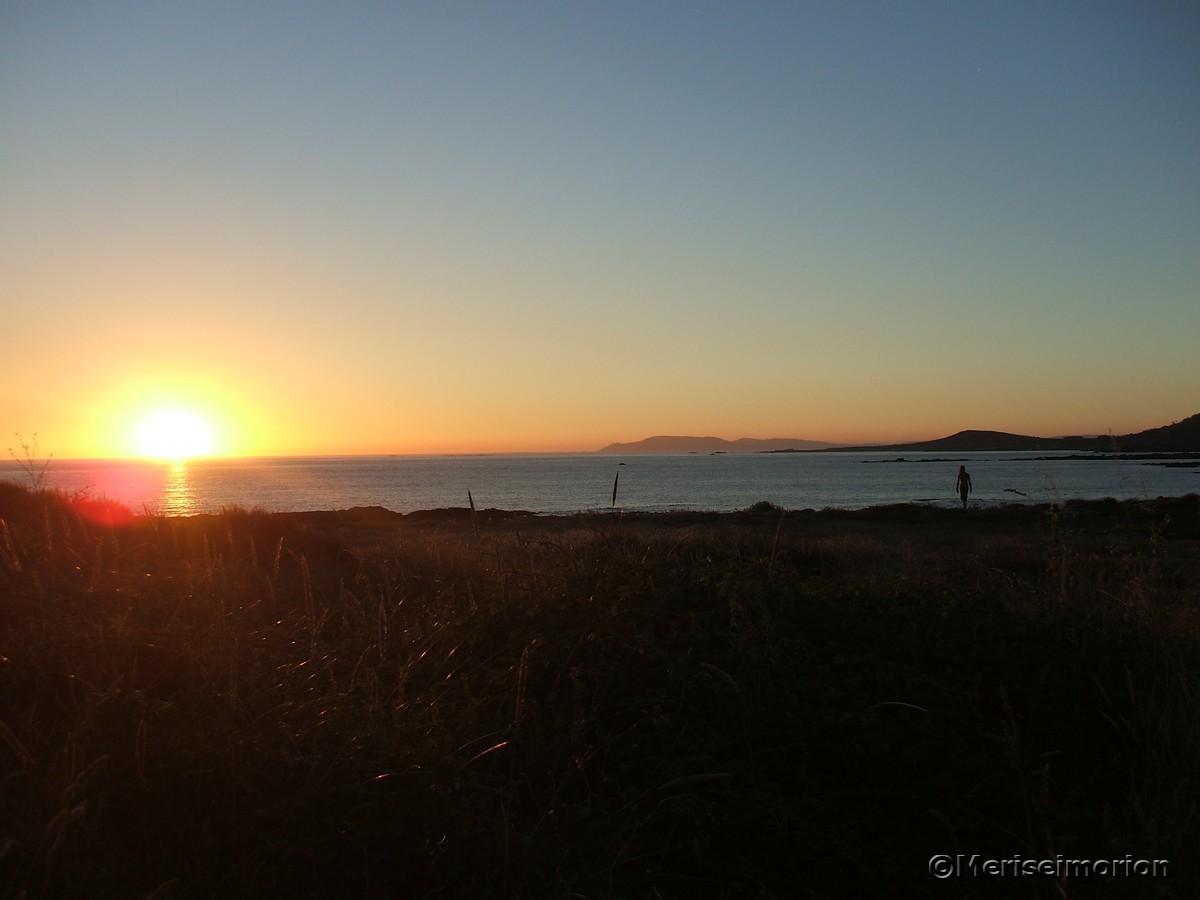 Nordspanien Sonnenuntergang