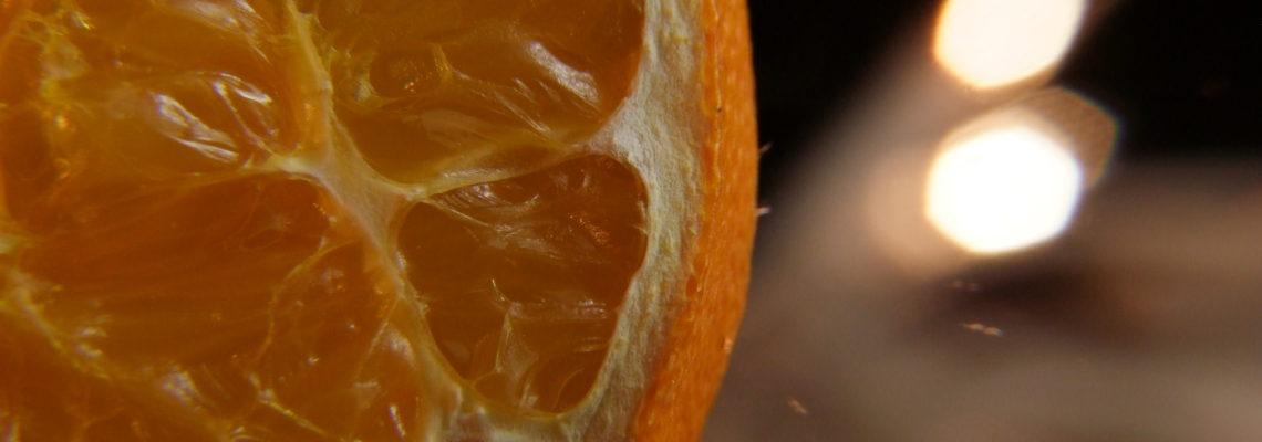 Mandarinenscheiben
