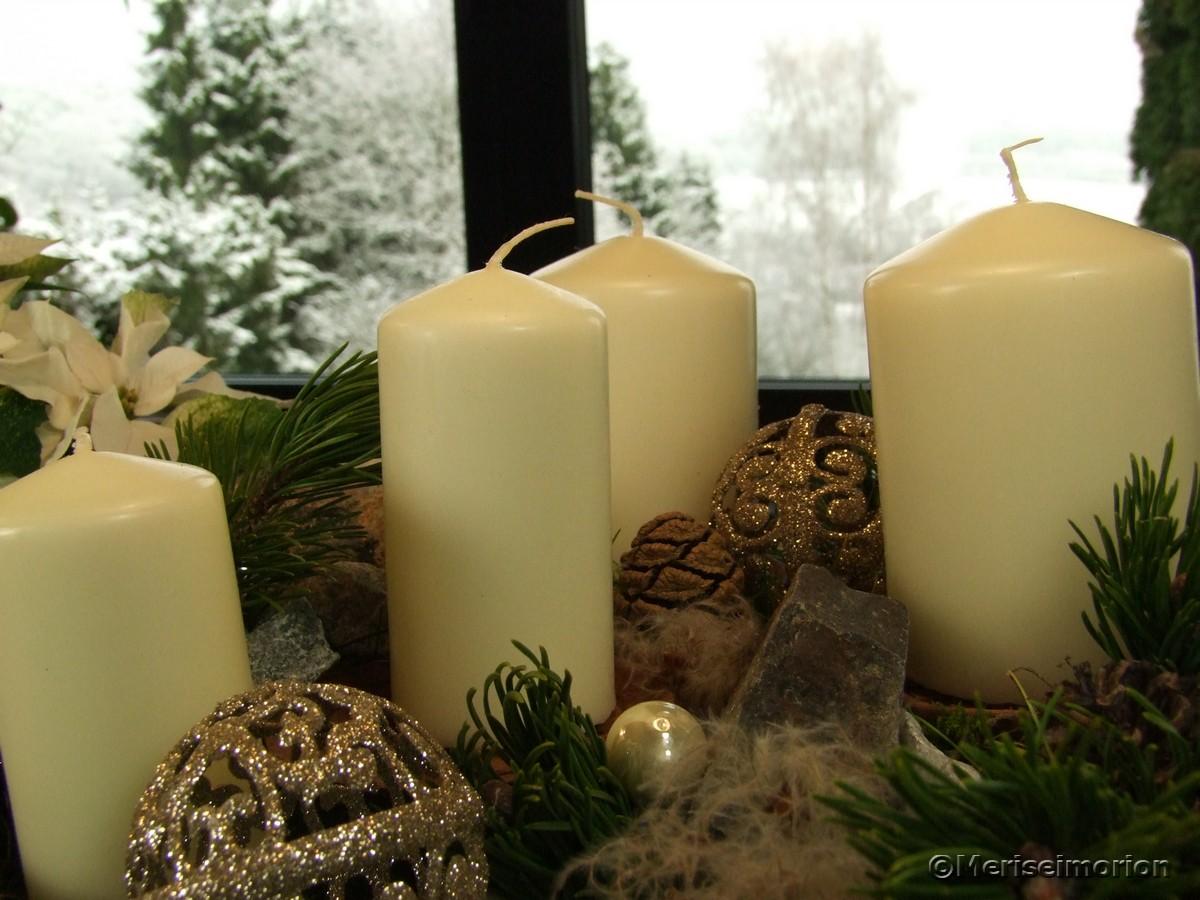 Kerzen zum Advent