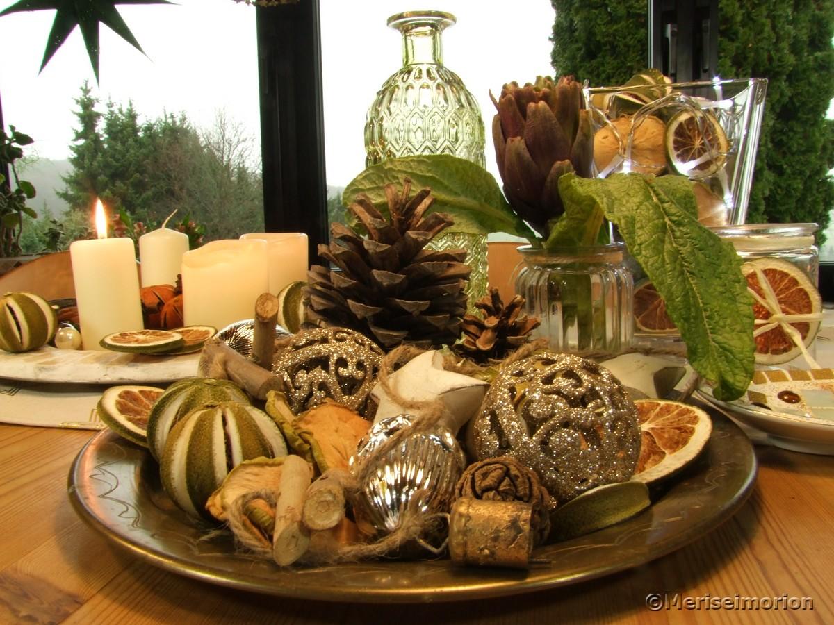 Weihnachtsdeko Tisch