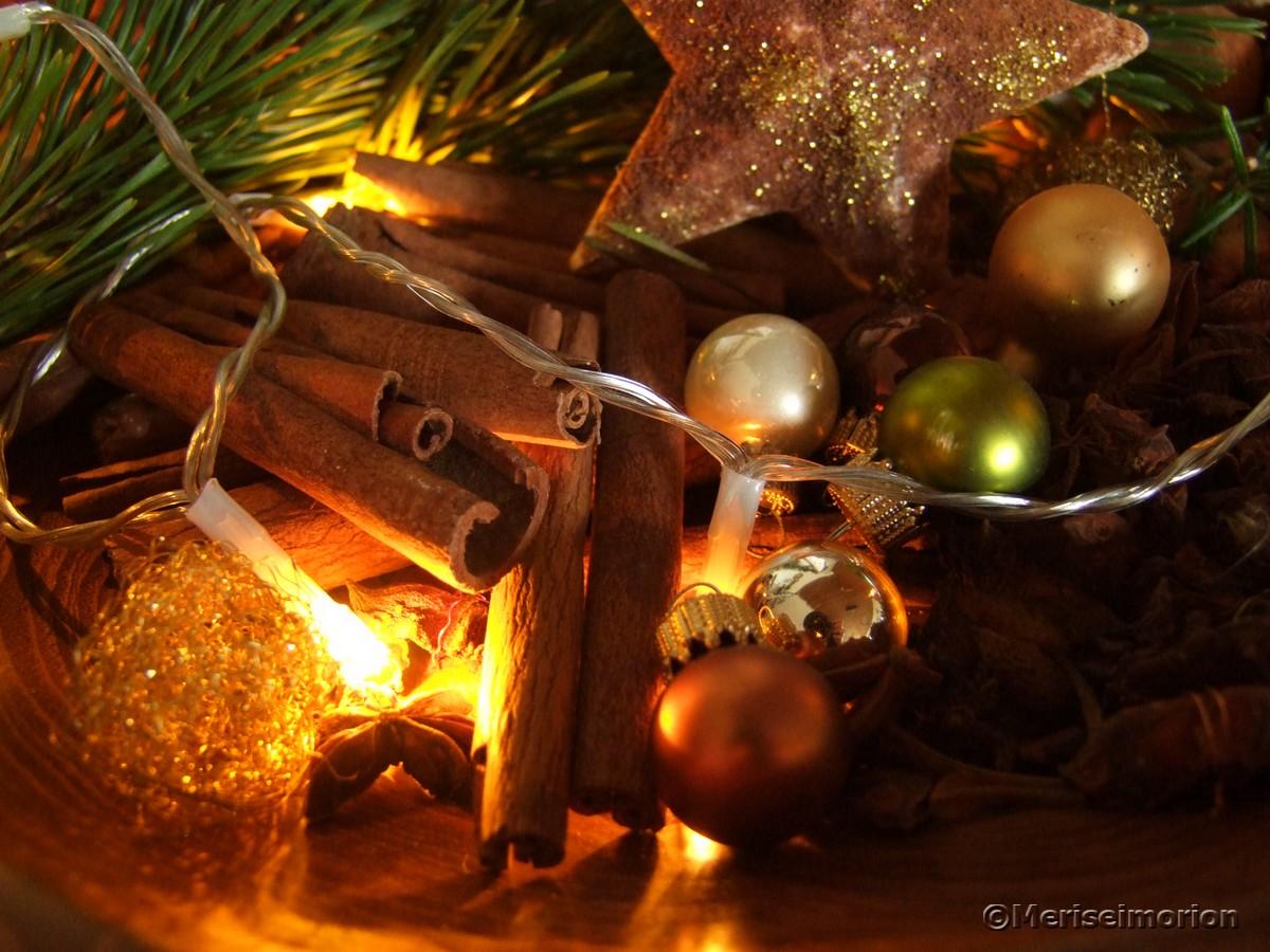 Weihnachtsduft im Haus