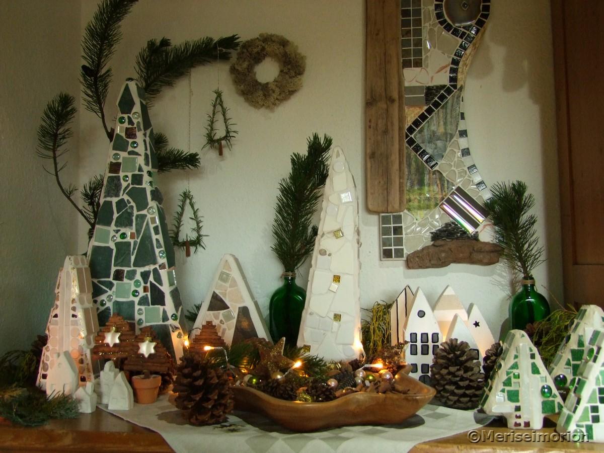 Weihnachtswald Deko