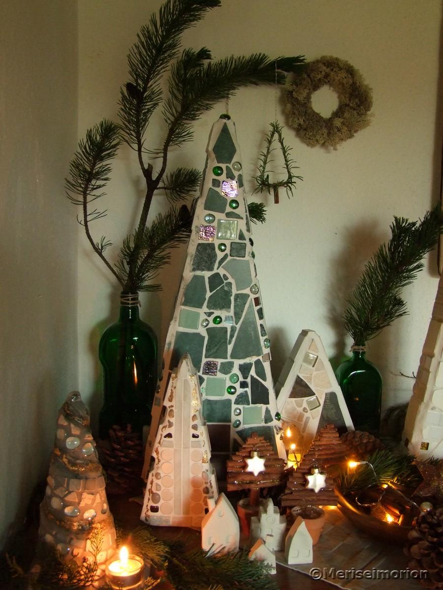 Weihnachtswald selbstgemacht