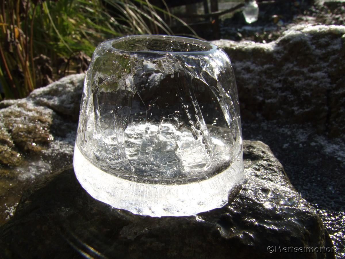 Eislichter basteln