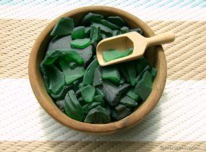 Meerglas grün kaufen